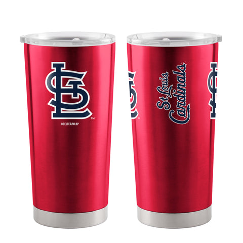 St. Louis Cardinals Travel Tumbler 20oz Ultra Red