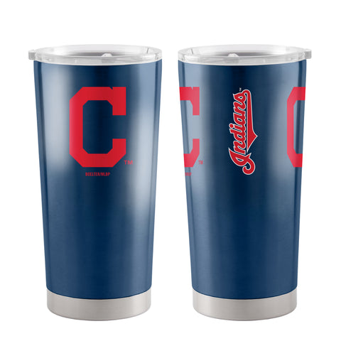 Cleveland Indians Travel Tumbler 20oz Ultra Red
