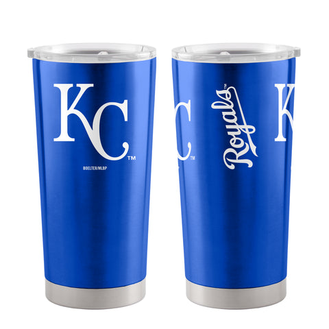 Kansas City Royals Travel Tumbler 20oz Ultra Blue