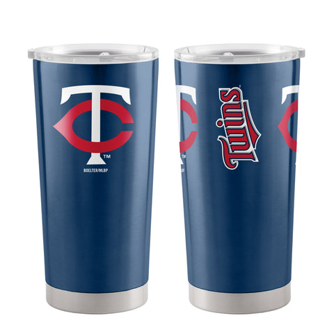 Minnesota Twins Travel Tumbler 20oz Ultra Navy