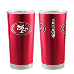 San Francisco 49ers Travel Tumbler 20oz Ultra Red