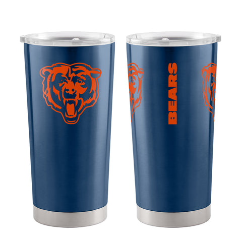 Chicago Bears Travel Tumbler 20oz Ultra Blue