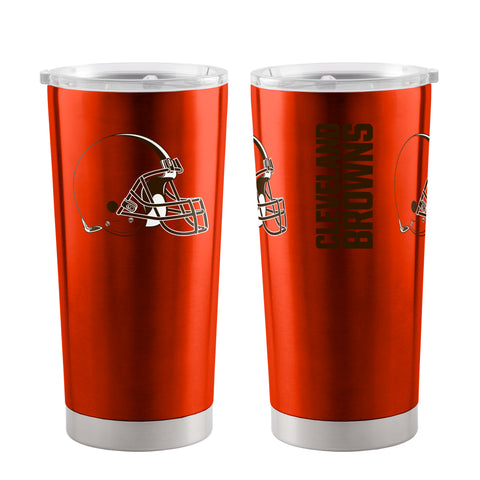 Cleveland Browns Travel Tumbler 20oz Ultra Orange