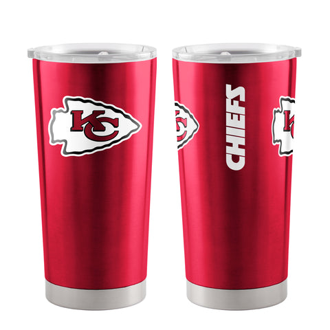Kansas City Chiefs Travel Tumbler 20oz Ultra Red