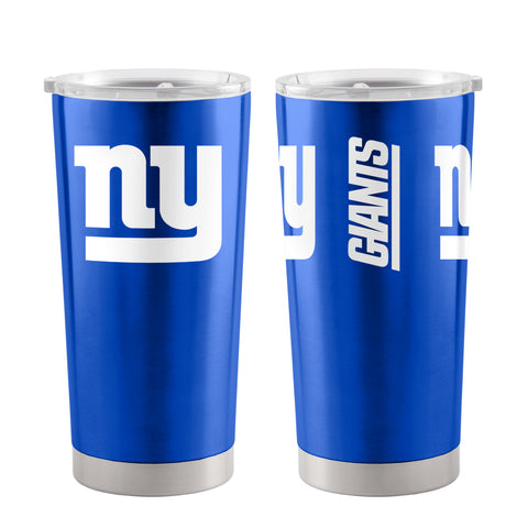 New York Giants Travel Tumbler 20oz Ultra Blue