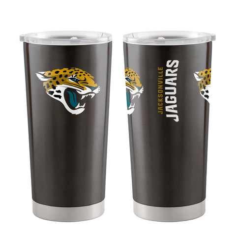 Jacksonville Jaguars Travel Tumbler 20oz Ultra Black