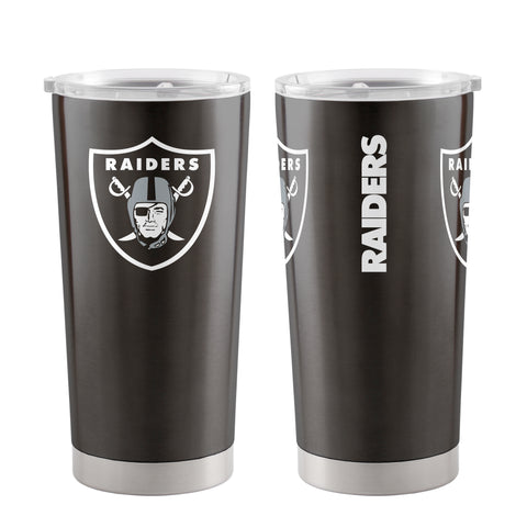 Oakland Raiders Travel Tumbler 20oz Ultra Black