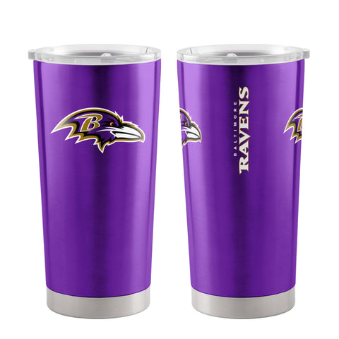 Baltimore Ravens Travel Tumbler 20oz Ultra Purple