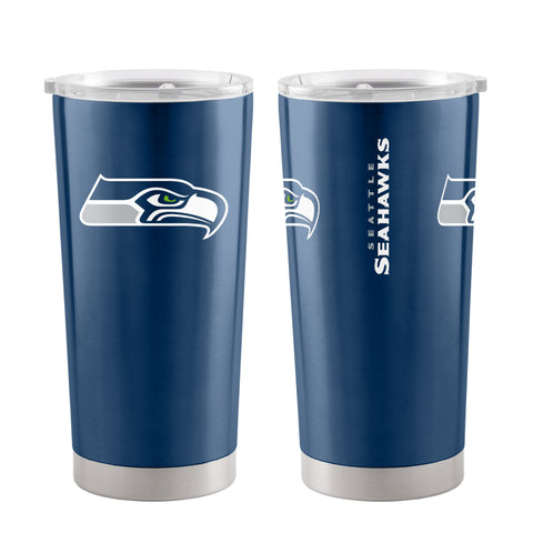 Seattle Seahawks Travel Tumbler 20oz Ultra Navy