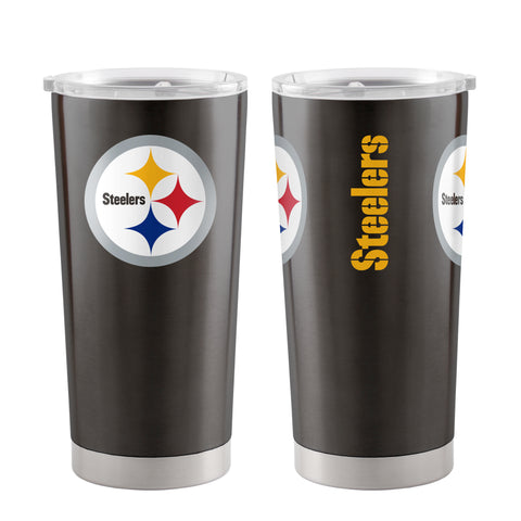 Pittsburgh Steelers Travel Tumbler 20oz Ultra Black