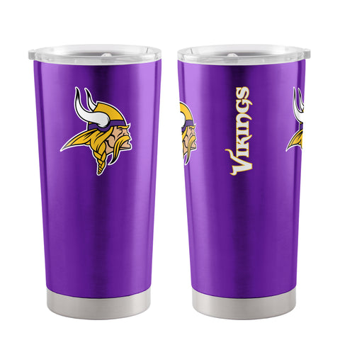 Minnesota Vikings Travel Tumbler 20oz Ultra Purple