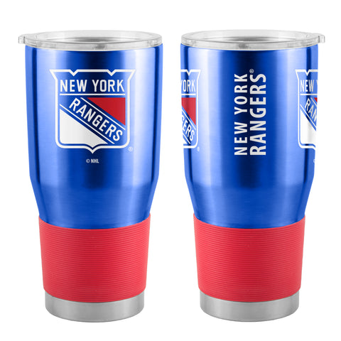 New York Rangers Travel Tumbler 30oz Ultra Blue