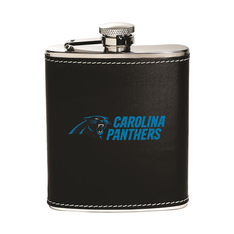 Carolina Panthers Flask - Stainless Steel