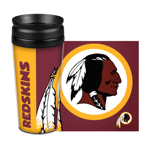 Washington Redskins Travel Mug - 14 oz Full Wrap - Hype Style