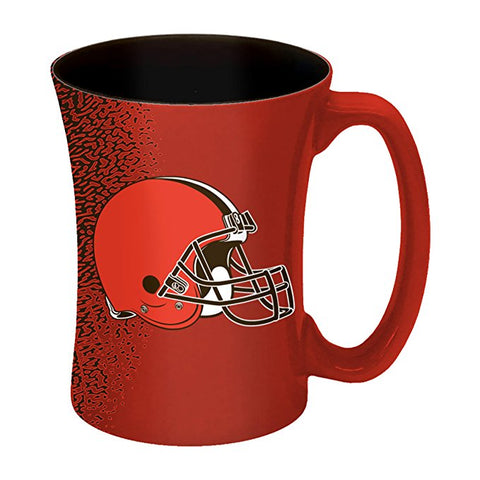 Cleveland Browns Coffee Mug 14oz Mocha Style New UPC