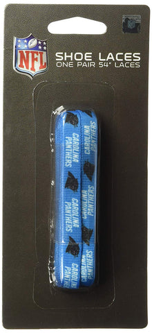 Carolina Panthers Shoe Laces - 54""