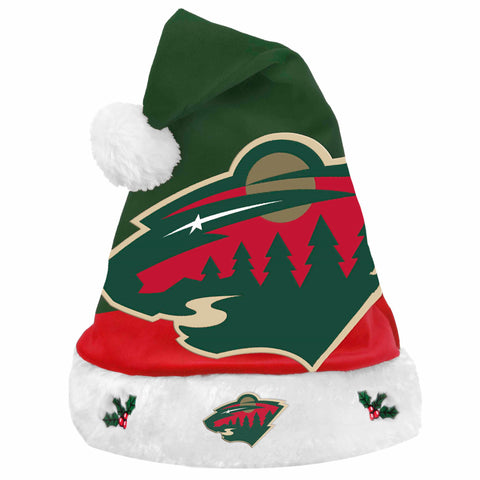 Minnesota Wild Santa Hat Basic Design 2018