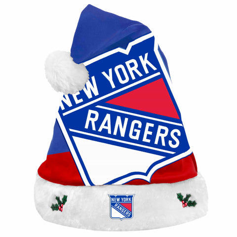 New York Rangers Santa Hat Basic Design 2018