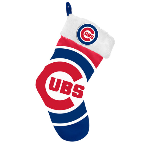 Chicago Cubs Stocking Basic Design 2018 Holiday