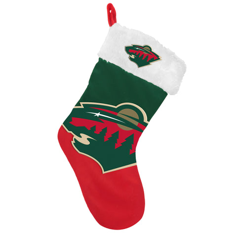 Minnesota Wild Stocking Basic Design 2018 Holiday