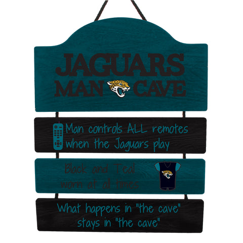 Jacksonville Jaguars Sign Wood Man Cave Design