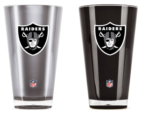 Oakland Raiders Tumblers - Set of 2 (20 oz)