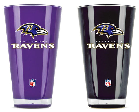 Baltimore Ravens Tumblers - Set of 2 (20 oz)