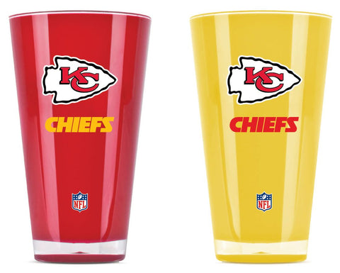 Kansas City Chiefs Tumblers - Set of 2 (20 oz)