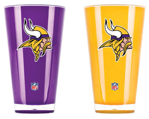 Minnesota Vikings Tumblers - Set of 2 (20 oz)