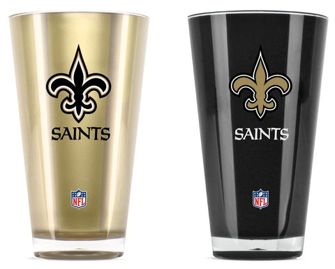 New Orleans Saints Tumblers - Set of 2 (20 oz)