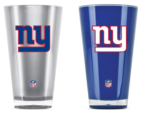 New York Giants Tumblers - Set of 2 (20 oz)