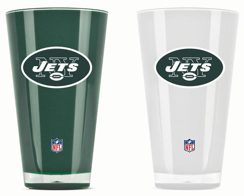 New York Jets Tumblers - Set of 2 (20 oz)