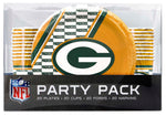 Green Bay Packers Party Pack 80 Piece