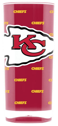 Kansas City Chiefs Tumbler - Square Insulated (16oz)