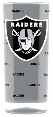 Oakland Raiders Tumbler - Square Insulated (16oz)