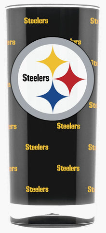 Pittsburgh Steelers Tumbler - Square Insulated (16oz)