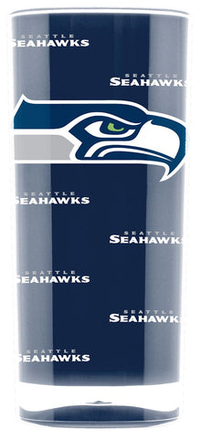 Seattle Seahawks Tumbler - Square Insulated (16oz)