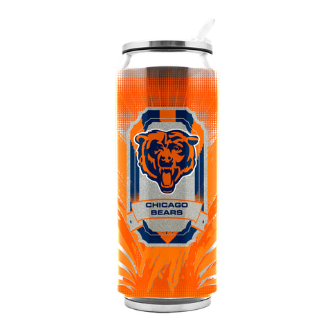 Chicago Bears Stainless Steel Thermo Can - 16.9 ounces