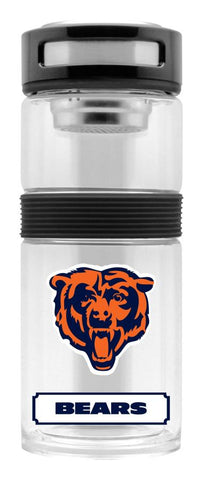 Chicago Bears Sport Bottle 24oz Plastic Infuser Style