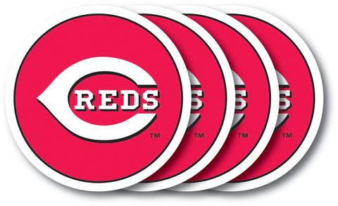 Cincinnati Reds Coaster Set - 4 Pack