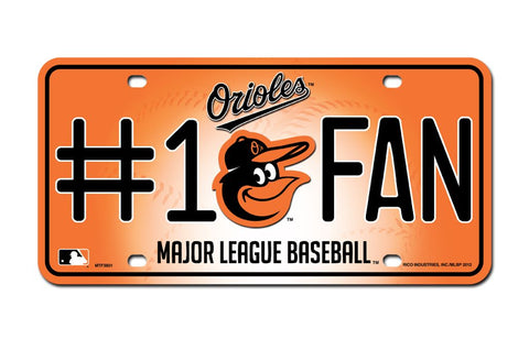 Baltimore Orioles License Plate #1 Fan