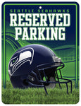 Seattle Seahawks Sign Metal Parking