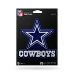Dallas Cowboys Decal 5.5x5 Die Cut Bling