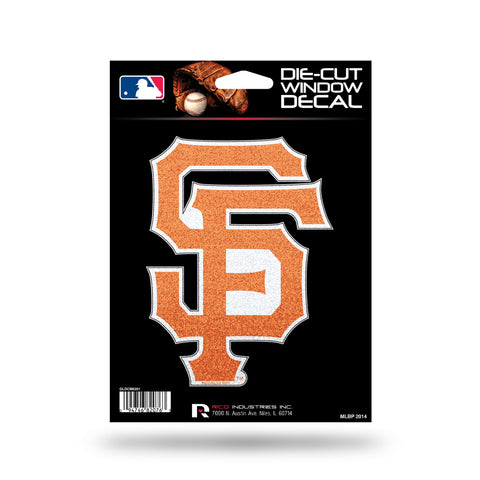 San Francisco Giants Decal 5x5 Die Cut Bling