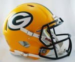 Green Bay Packers Helmet Riddell Authentic Full Size Speed Style