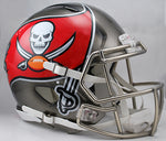 Tampa Bay Buccaneers Helmet Riddell Authentic Full Size Speed Style