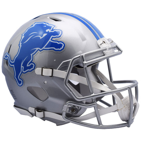 Detroit Lions Helmet Riddell Authentic Full Size Speed Style