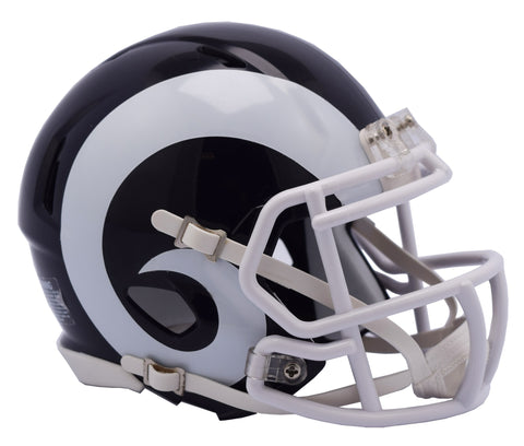 Los Angeles Rams Helmet Riddell Authentic Full Size Speed Style