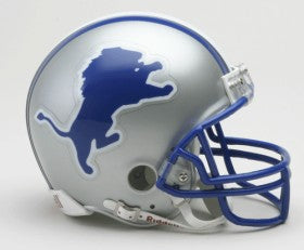 Detroit Lions Helmet Riddell Replica Mini VSR4 Style 1983-2002 Throwback