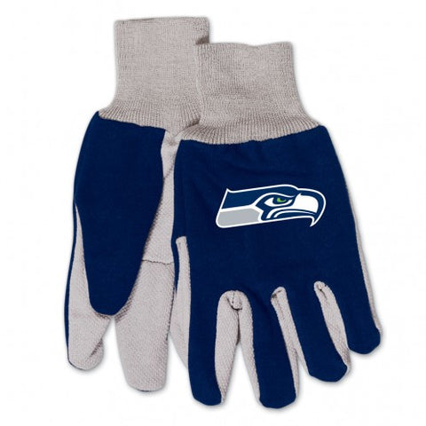 Seattle Seahawks Two Tone Gloves - Youth Size